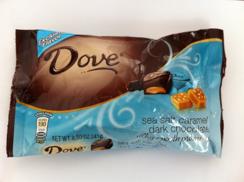 Dove Silky Smooth Sea Salt Caramel Dark Chocolate 8.5oz (pack of 4 ()