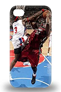 Iphone Skin 3D PC Case Cover For Iphone 4/4s Popular NBA Detroit Pistons Ben Wallace #3 Phone 3D PC Case ( Custom Picture iPhone 6, iPhone 6 PLUS, iPhone 5, iPhone 5S, iPhone 5C, iPhone 4, iPhone 4S,Galaxy S6,Galaxy S5,Galaxy S4,Galaxy S3,Note 3,iPad Mini-Mini 2,iPad Air )