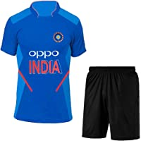 Way2Buy India Cricket Jersey for Kids & Mens