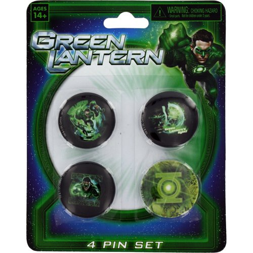 Green Lantern Movie - Pin Set