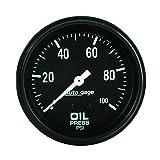 AUTO METER 2312 Autogage Oil Pressure Gauge