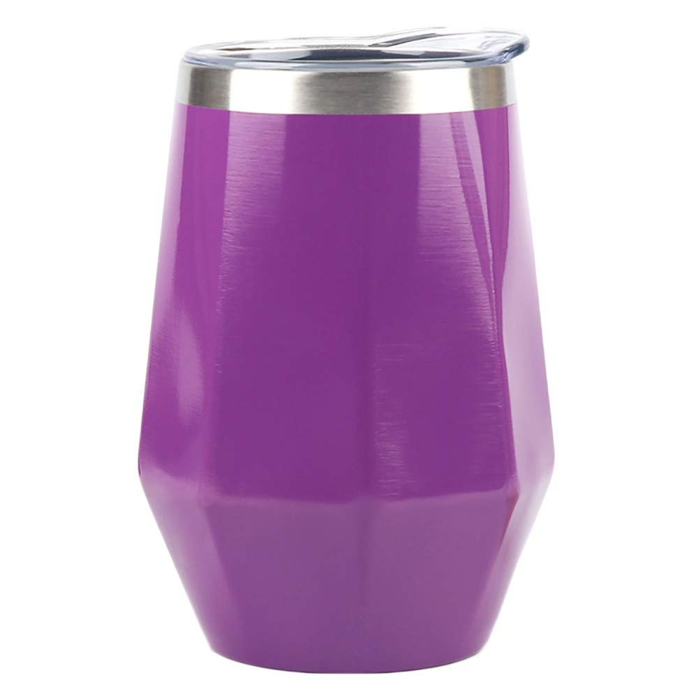 Clearance! DDLBiz 1PC Portable Stainless Steel Wine Cup Double Walled Insulated Vaccum Insulation (B)
