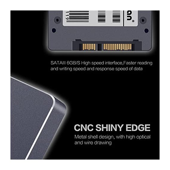 """KingDian 2.5"""" 7mm SATA III 6Gb/s Internal Solid State Drive SSD for Desktop PCs Laptop (60GB) 4 Premium Capacity: 2.5 inch MLC S200 60GB . SDRAM: Supports one module DDR3 up-to 4Gbits,standard 1Gbits . Sequential Data Read/Write Performance (Up to): 462 /70MB/s ."""