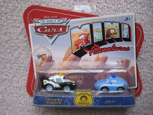 Cars Mini Adventures Radiator Springs Lightning McQueen and Sally