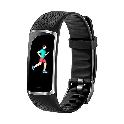 WWLXC Reloj Deportivo Que Funciona con la presión Arterial, Ritmo cardíaco, Pulsera Inteligente