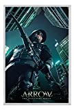 Arrow TV Series Legacy Poster Magnetic Notice Board Silver Framed - 96.5 x 66 cms (Approx 38 x 26 inches)
