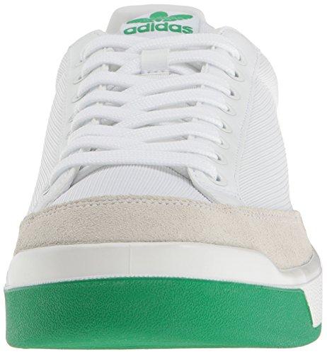 Adidas Originali Mens Rod Laver Super Fashion Sneaker Bianco / Bianco / Fairway