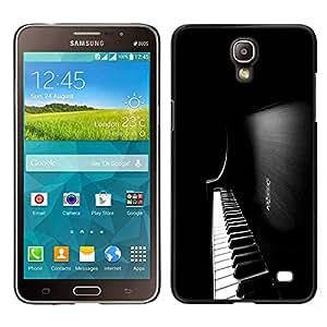 LECELL--Funda protectora / Cubierta / Piel For Samsung Galaxy Mega 2 -- Teclas de piano --
