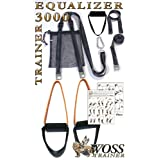WOSS 3000 Equalizer Trainer, Black, Made in USA Suspension System