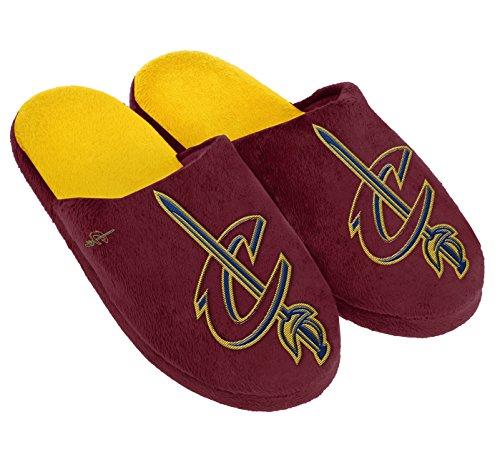 Cleveland Cavaliers Logos (Cleveland Cavaliers Big Logo Slide Slippers - Extra Large (Men's 13-14))