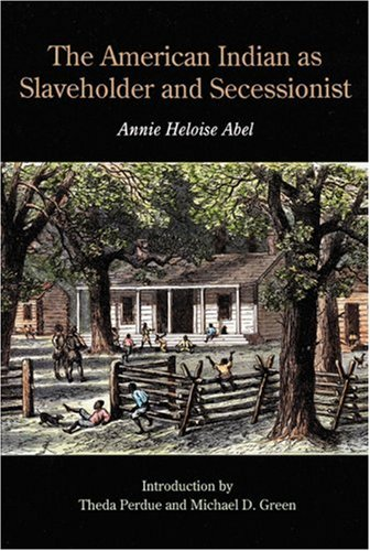 The American Indian as Slaveholder and Secessionist (Bison Book)