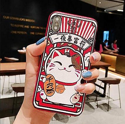 Amazon.com: LENALE - Funda para iPhone 9 x S Max X 8 7 6 6S ...