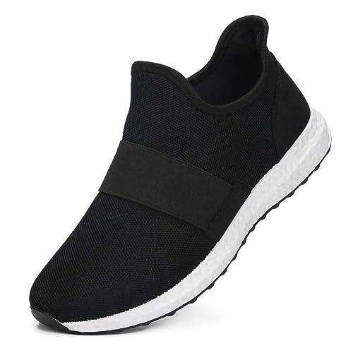 9a695dca2e410 Amazon.com | fereshte Men's Breathable Walking Shoes High-top ...