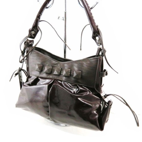 Bag Bag vernice cioccolato Morgan marrone Morgan Guest rFTwxrBq1