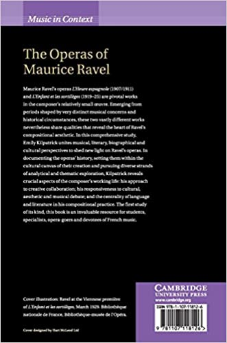 The Operas of Maurice Ravel Music in Context