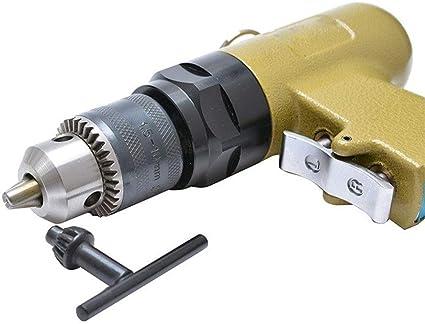 Pneumatic Hand Drill Hand Tools Industrial Air Tool MLH-MLH Portable Practica Pneumatic Hand-held Reversing Air Drill 1.5-10mm Pneumatic Drill