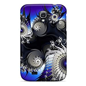 Hot Snap-on Graphics The Blue Veil 3d Hard Covers Cases/ Protective Cases For Galaxy S4