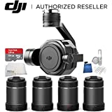 DJI Zenmuse X7 Camera and 3-Axis Gimbal Starter Accessory Bundle, with DL & DL-S Lens Set