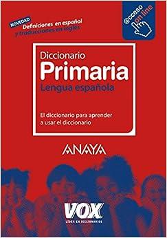 Diccionario de Primaria Vox - Lengua Española