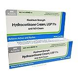 Actavis Hydrocortisone Cream 1% Maximum Strength - 1 oz
