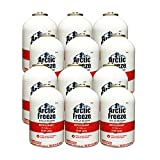 Arctic Freeze (RLS-134T) Refrigerant R-134a with Stop Leak 12 oz (12 Cans)