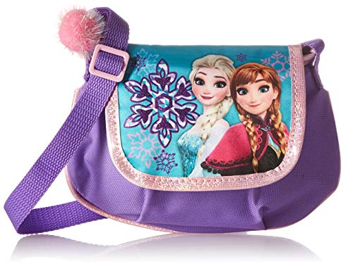 Disney Frozen Crossbody Plush Messenger Bag Book Backpack