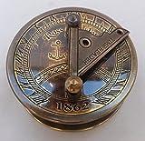 Maritime Pocket Sundial Compass..C-3057