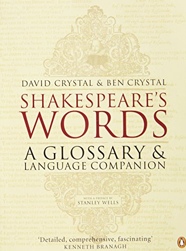 Shakespeare's Words: A Glossary and Language Companion PDF