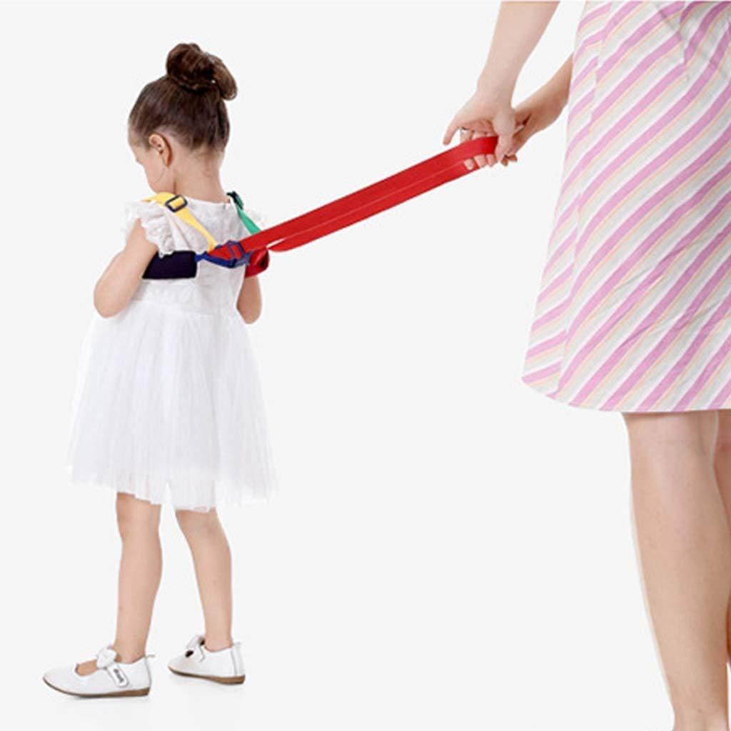 verstellbar zur Befestigung am Handgelenk Einkaufen oder Reisen mit Kindern Kinderz/ügel hautfreundlich Kinderleine elastisch f/ür sicheres Spazierengehen