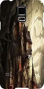 Snoogg Haunted Mansion 2691 Diseñador Protectora Volver Funda Para Samsung Ga...