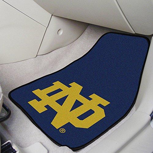 FANMATS NCAA Notre Dame Fighting Irish Nylon Face Carpet Car Mat