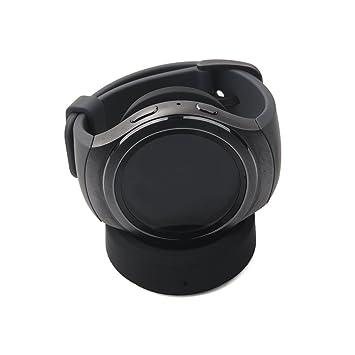 YockTec Samsung Gear Sport R600 Cargador Soporte de Carga Inalámbrico Soporte de Repuesto Cuna de Carga para Samsung Gear Sport SM-R600 Smartwatch ...