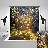 Kate 5x7ft Stars Glittering Backdrops Children Photography Curtain Cloth Photo Background