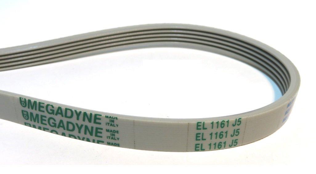 Megadyne - Correa de lavadora EL 1161 J5: Amazon.es: Hogar