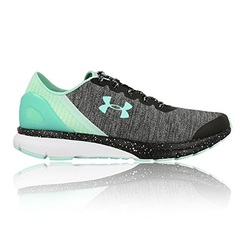 Under Armour Women's Ua W Charged Escape Running Shoes, Grey Green