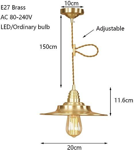 220V Hanging Pendant Light Kitchen Lamp Chandelier Lighting Bar Bedroom Ceiling