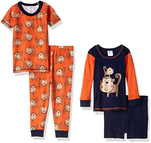 Gerber Baby Boys' 4 Piece Pajama Set