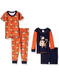 Baby Boys' 4 Piece Pajama Set