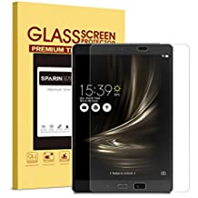 ZenPad 3S 10 9.7'' Screen Protector, SPARIN Tempered Glass / High Definition / 2.5D Round Edge / Scratch Resistant Screen Protector for ASUS Zenpad 3S 10 9.7 inch (Z500M)