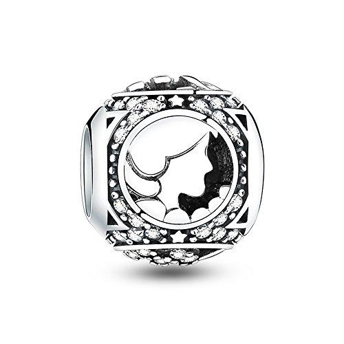 Glamulet Art - Virgo Charm -- Fits Pandora Bracelet
