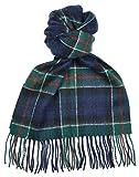 Lambswool Scottish Clan Scarf Colquhoun Modern Tartan