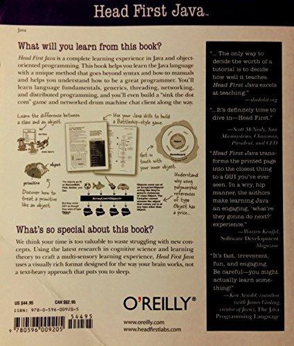 Head First Java, 2nd Edition by Sierra, Kathy/ Bates, Bert (Image #1)