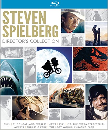 DVD : Steven Spielberg Director's Collection (Jaws / E.T. The Extra-Terrestrial / Jurassic Park / The Lost World: Jurassic Park / Duel / The Sugarland Express / 1941 / Always) [Blu-ray]