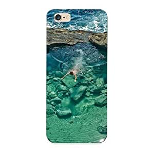 VenusLove Case Cover For Iphone 6 Plus - Retailer Packaging Escape In A Lagoon Protective Case