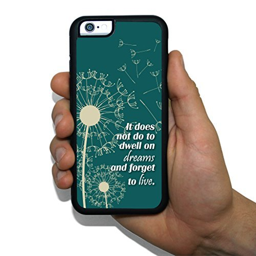 """iPhone 6 Slim Protective Case - Dumbledore Quote """"It does..."""""""