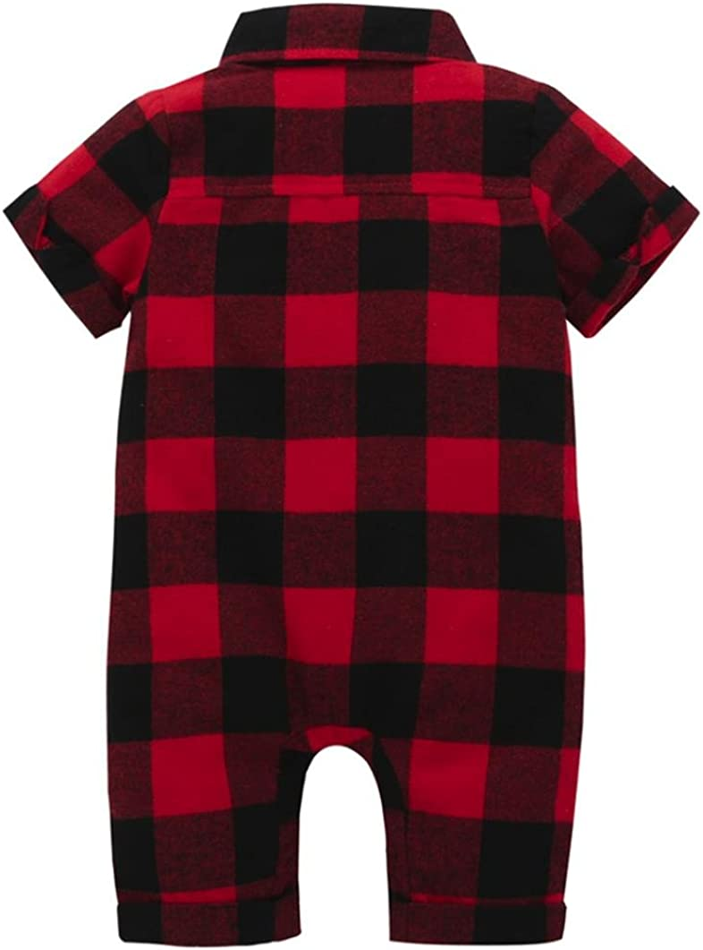 Goodtrade8 Toddler Baby Girl Boy Playsuit Romper Jumpsuit Newborn Infant Short Sleeve Outfit Clothes