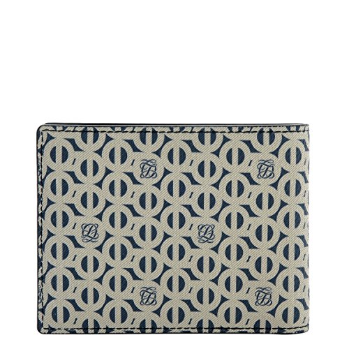 Holder Navy QUATORZE Leather LQ with Wallets SM2SD72NA Card Monogram Navy Bifold LOUIS Size for One Mens p1nnwUTq