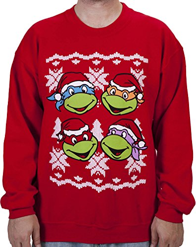 Ninja Turtles Ugly Christmas Sweaters