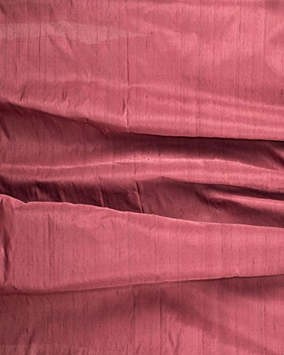 Maroon solid tone dupion silk blended 44