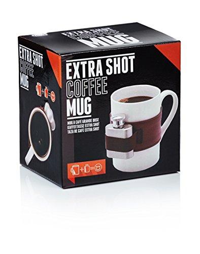 Shot Coffee Mug (NPW Extra Shot Coffee Mug & Mini Flask Set,)
